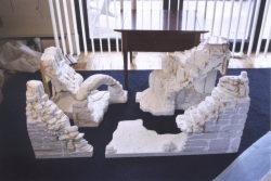 fake rock wall jigsaw puzzle