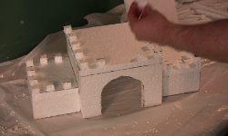 Styrofoam Castle