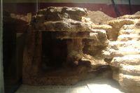 fake rock cave
