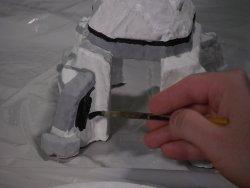 Constructing a lunar landscape