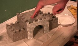 Model castle