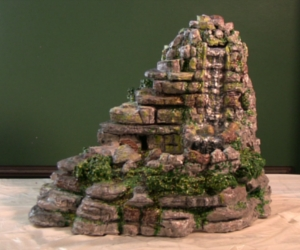 how to build an indoor tabletop waterfall