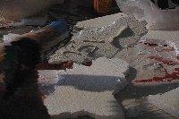 fake rock wall glue