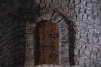 Castle model door