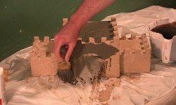 Building a model castle